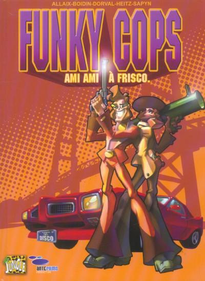 Couverture Funky cops tome 1 - ami ami à frisco