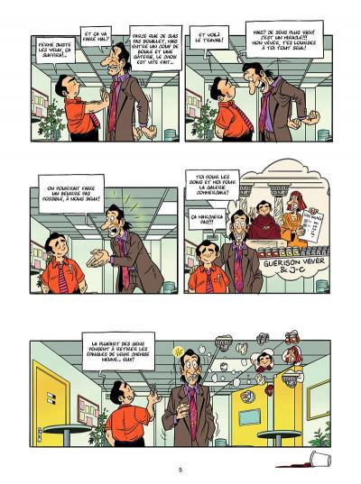 Page 4 caméra café tome 5 - c'est nous qui offre
