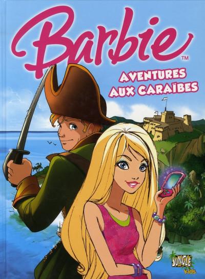 Couverture barbie tome 2 - aventures aux caraïbes