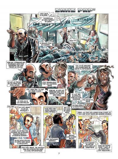 Page 4 caméra café tome 6 - tout baigne !