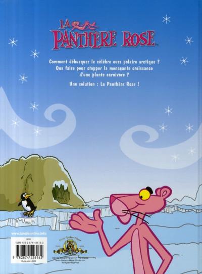 Dos la panthère rose tome 1 - le glacier rose