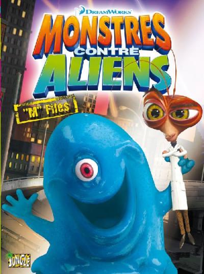 Couverture monstres contre aliens tome 2 -