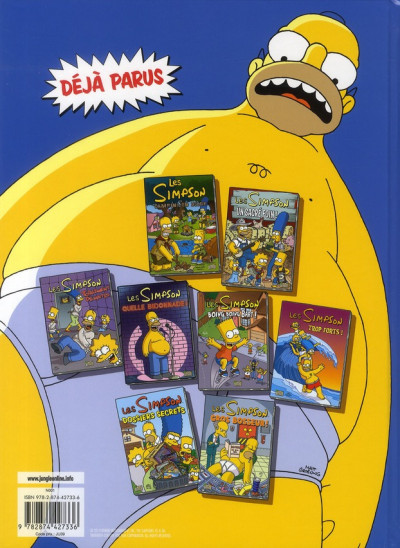 Dos les simpson tome 9 - extra colossal !