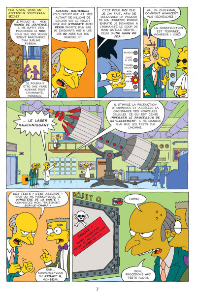 Page 5 les simpson tome 9 - extra colossal !