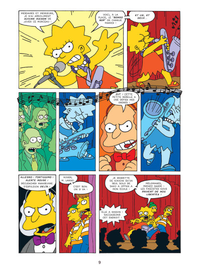 Page 5 les simpson tome 11