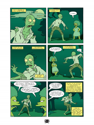 Page 3 les simpson - la cabane des horreurs tome 1 - fais-moi peur !