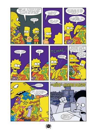 Page 4 les simpson - la cabane des horreurs tome 1 - fais-moi peur !
