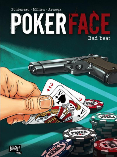 Couverture poker face tome 1 - bad beat