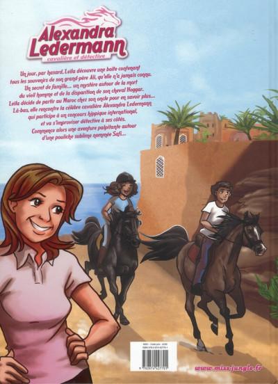 Dos Alexandra Ledermann tome 1 - cavalière