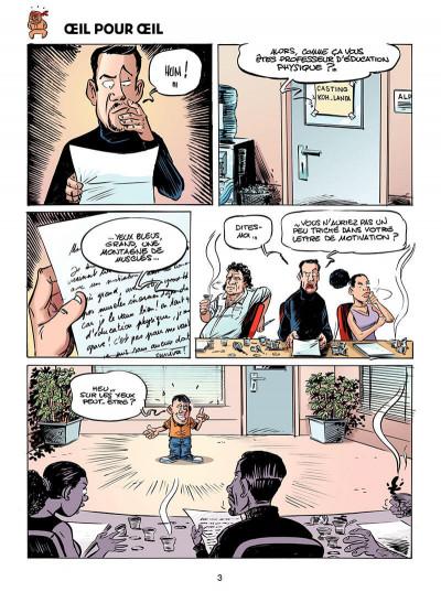 Page 4 les fausses aventures de koh lanta tome 2