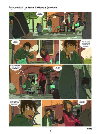 Page 1 vie de merde ; les premières fois