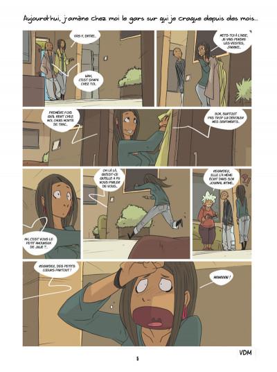 Page 3 vie de merde ; les premières fois