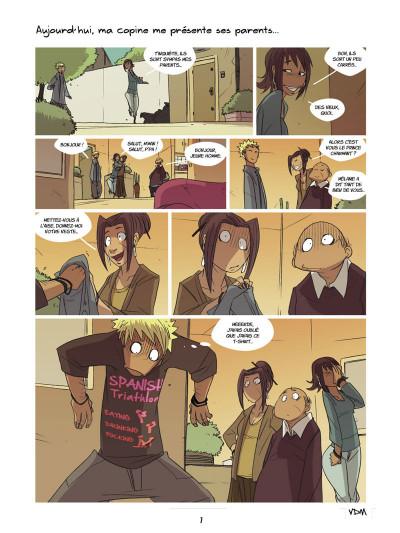 Page 5 vie de merde ; les premières fois