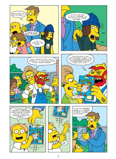 Page 3 les Simpson T.17 - sans filet !