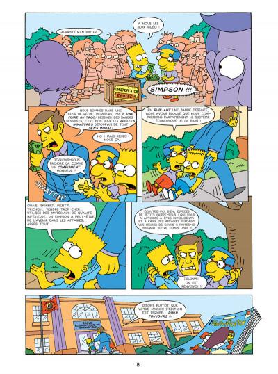 Page 4 les Simpson T.17 - sans filet !