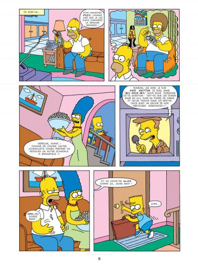 Page 5 les Simpson T.17 - sans filet !