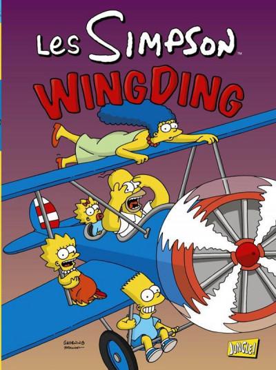 Couverture les Simpson tome 16 - wingding