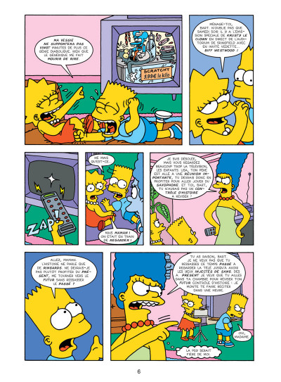 Page 2 les Simpson tome 16 - wingding