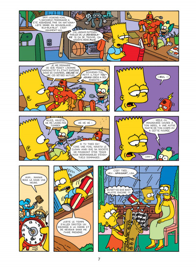 Page 3 les Simpson tome 16 - wingding