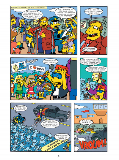 Page 4 les Simpson tome 16 - wingding