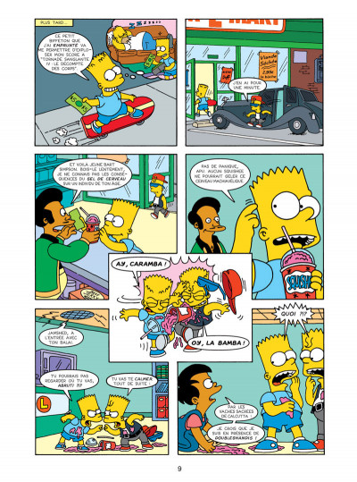 Page 5 les Simpson tome 16 - wingding