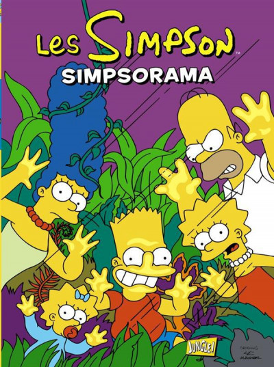 Couverture les Simpson tome 15 - Simpsorama