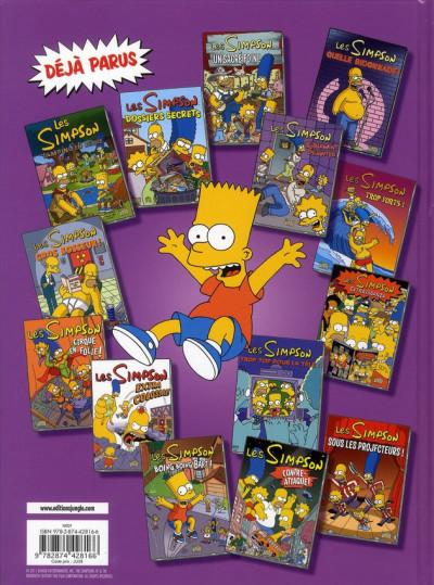 Dos les Simpson tome 15 - Simpsorama