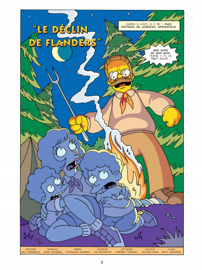 Page 1 les Simpson tome 15 - Simpsorama