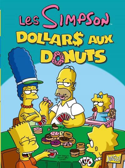Couverture les Simpson T.20 - dollars aux donuts