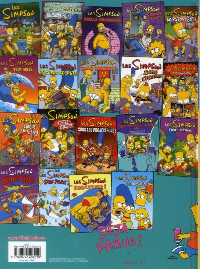 Dos les Simpson T.20 - dollars aux donuts
