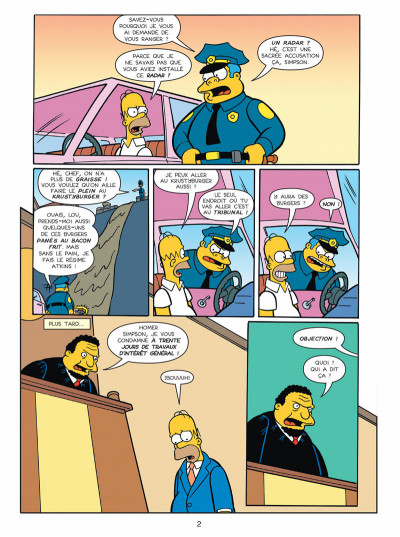 Page 2 les Simpson T.20 - dollars aux donuts