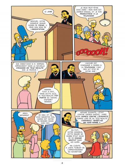 Page 4 les Simpson T.20 - dollars aux donuts