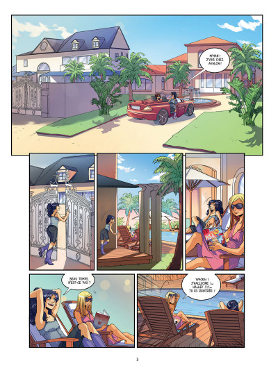 Page 1 Meilleures ennemies tome 1