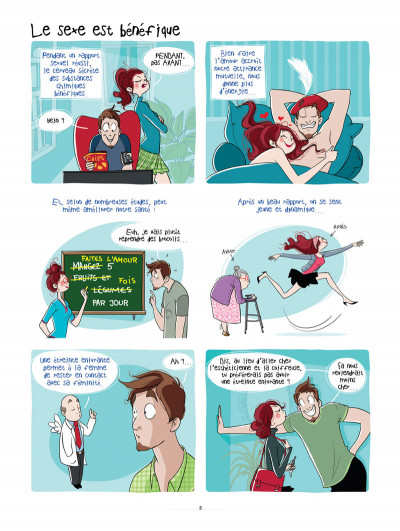 Page 3 les hommes viennent de Mars, les femmes viennent de Vénus tome 2 - sous la couette
