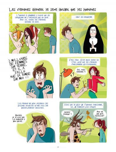 Page 5 les hommes viennent de Mars, les femmes viennent de Vénus tome 2 - sous la couette