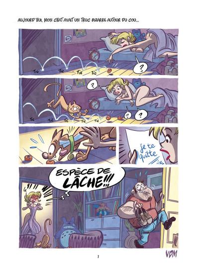 Page 5 vie de merde tome 5 - vdm tome 5 - avec mon chat