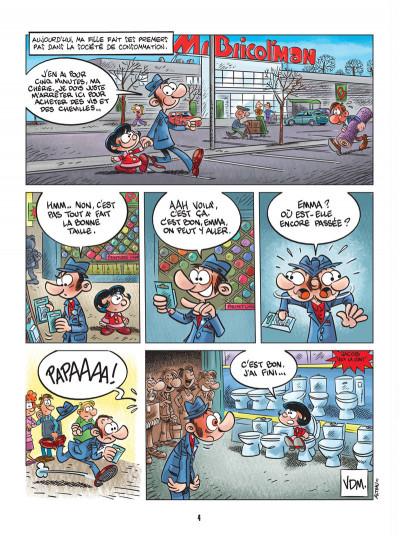 Page 2 vie de merde tome 6 - les enfants