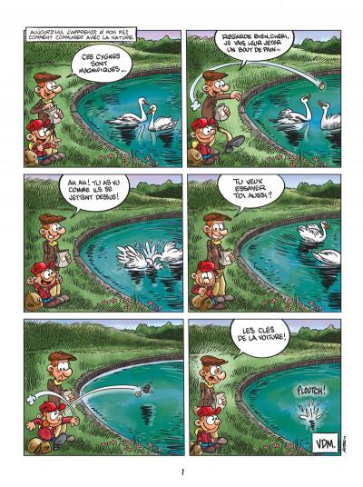 Page 5 vie de merde tome 6 - les enfants