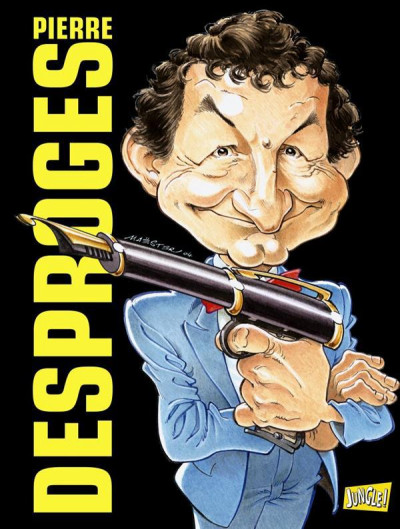 Couverture pierre desproges en BD