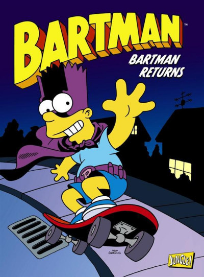 Couverture Bartman tome 2 - Bartman returns