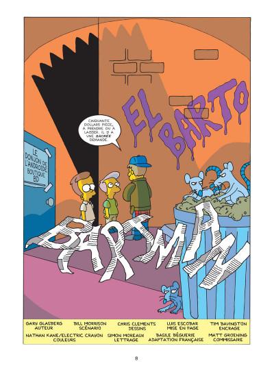 Page 1 Bartman tome 2 - Bartman returns