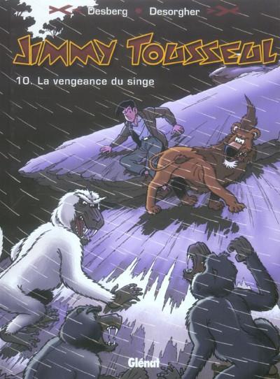 image de jimmy tousseul tome 10 - le vengeance du singe