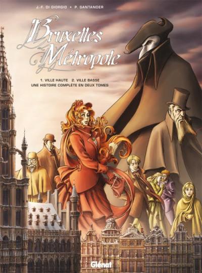 image de bruxelles métropole - coffret tome 1 + tome 2