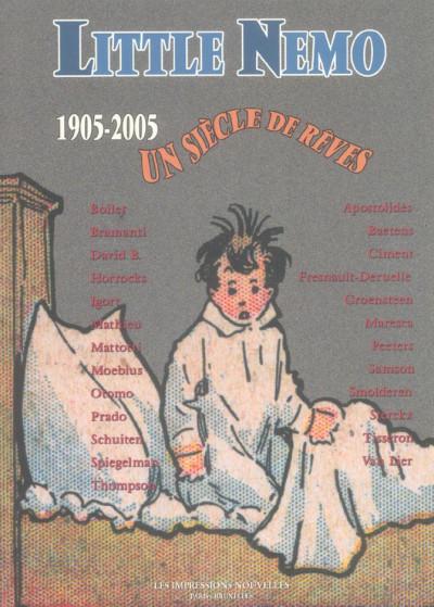 Couverture little nemo, 1905-2005 ; un siècle rêves