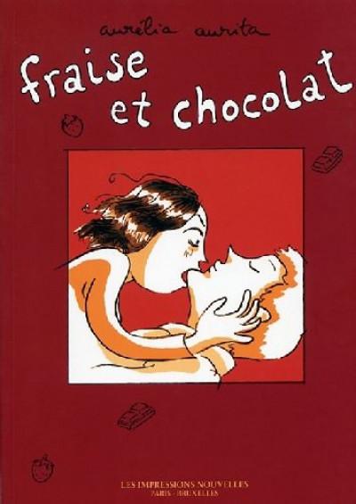 Couverture fraise et chocolat tome 1
