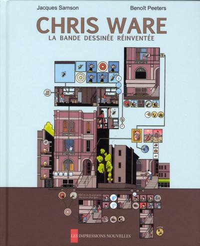 Couverture chris ware ; la bande dessinée réinventée