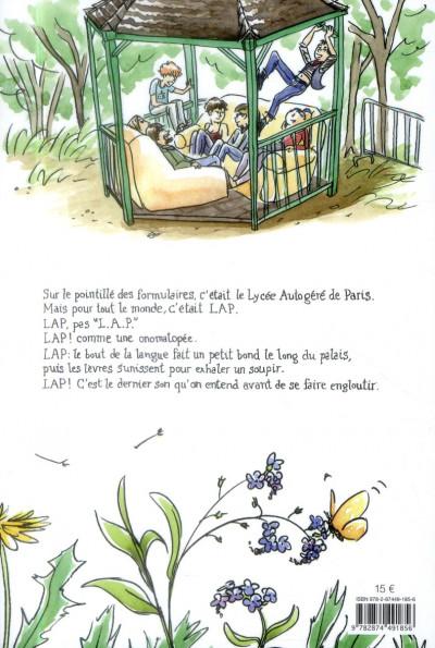 Dos lap ! un roman d'apprentissage