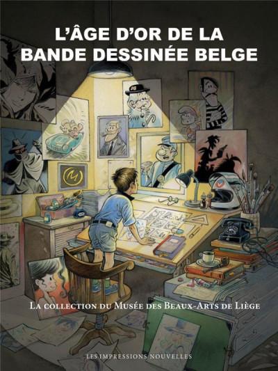 image de L'âge d'or de la bande dessinée belge