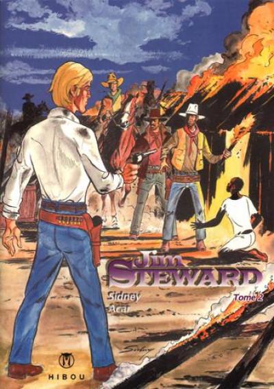 Couverture Jim Steward T.2