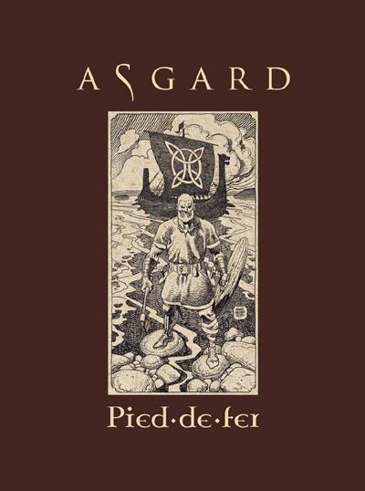Couverture Asgard tome 1 - Pied-de-fer (éd. 2012)